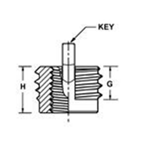 Picture for category Miniature Insert Keylocking Inch